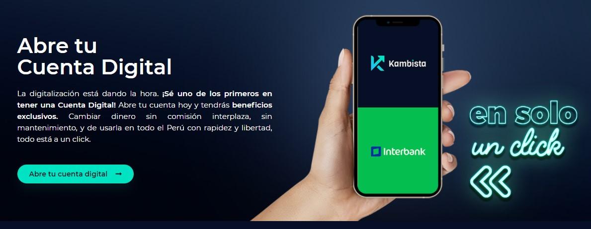 Abrir cuenta Interbank